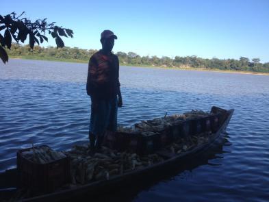 Pescador rio São Francisco